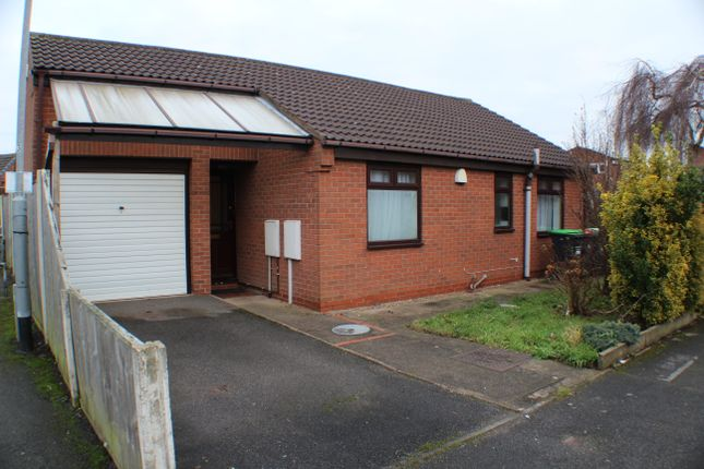 Thumbnail Detached bungalow to rent in Balmoral Grove, Hucknall, Nottingham