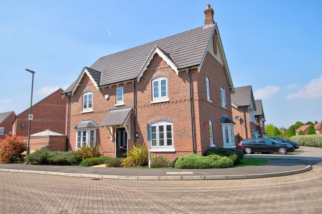 Thumbnail Detached house for sale in Speedway Close, Long Eaton, Nottingham