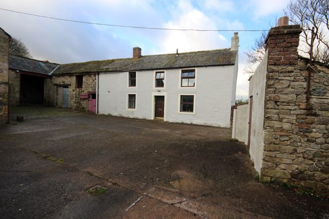 Thumbnail Farmhouse for sale in Hesket Newmarket, Wigton