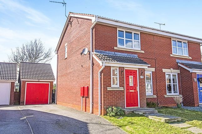 Thumbnail Semi-detached house to rent in Kestrel Close, Driffield