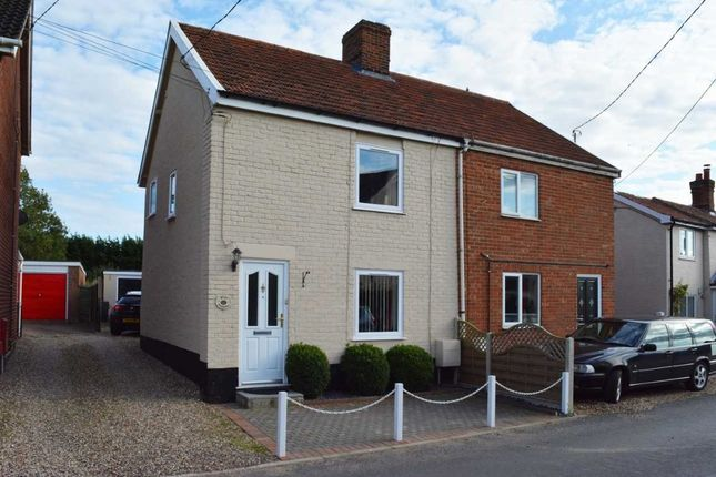 Thumbnail Semi-detached house for sale in Silver Street, Attleborough