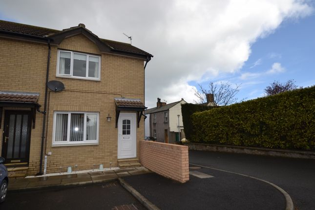 Thumbnail End terrace house for sale in Browns Court, Amble