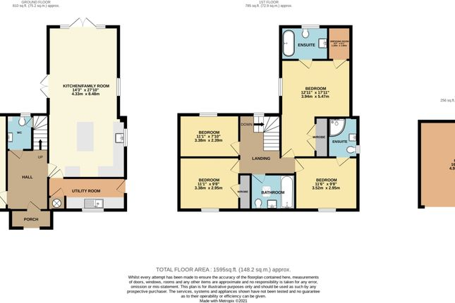 Thumbnail Detached house for sale in 4 Upton Court, Latton, Swindon