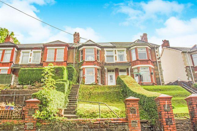 3 bed terraced house for sale in Caerllwyn Terrace, Ynysddu, Newport