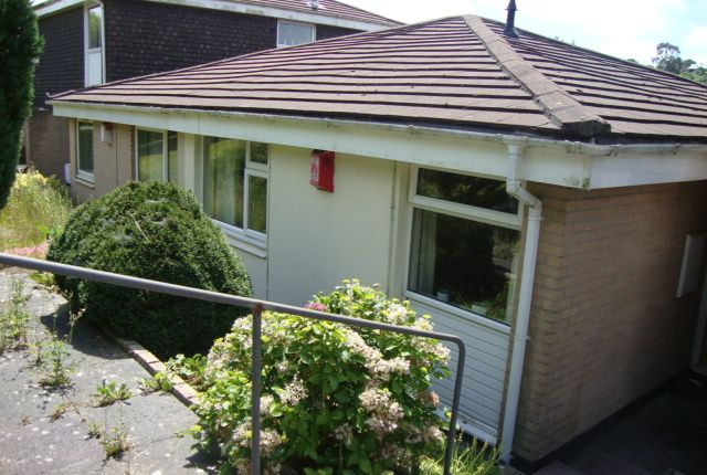 Thumbnail Detached bungalow to rent in Downfield Drive, Plympton, Plymouth