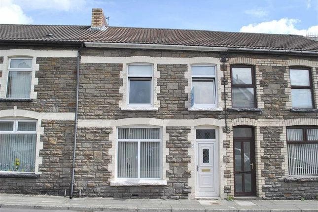 Terraced house for sale in Gilfach Street, Bargoed