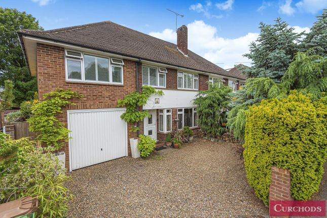 Thumbnail Semi-detached house for sale in Glebeland Gardens, Shepperton