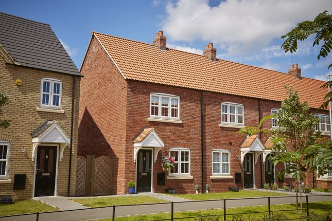 Thumbnail Terraced house for sale in Canwick Way, Gainsborough