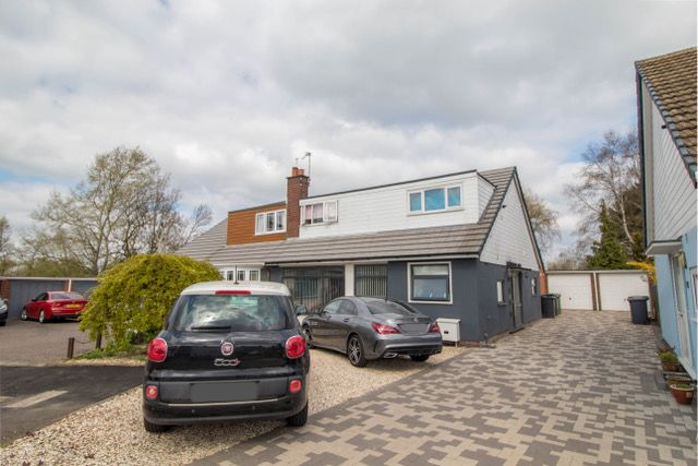 Thumbnail Detached house for sale in Avon Close, Bulkington, Bedworth