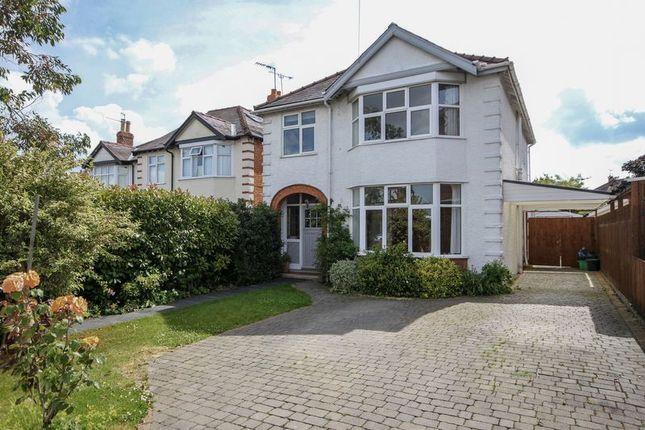 Thumbnail Detached house for sale in Old Bath Road, Leckhampton, Cheltenham