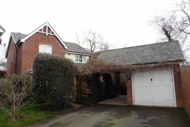 Thumbnail Detached house to rent in 22, Heulwen Way, Welshpool, Powys