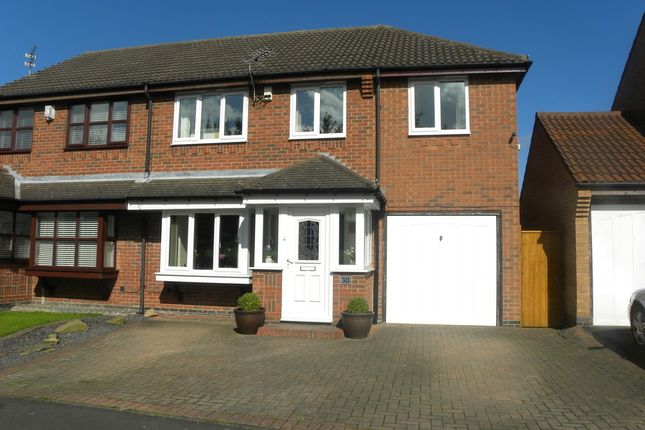 Thumbnail Semi-detached house for sale in Murrayfield, Seghill, Cramlington