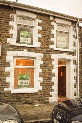 Thumbnail Terraced house to rent in Llewellyn Street, Pontygwaith