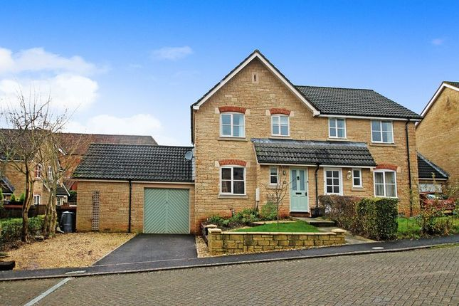 Thumbnail Semi-detached house for sale in New Square, South Horrington Village, Wells