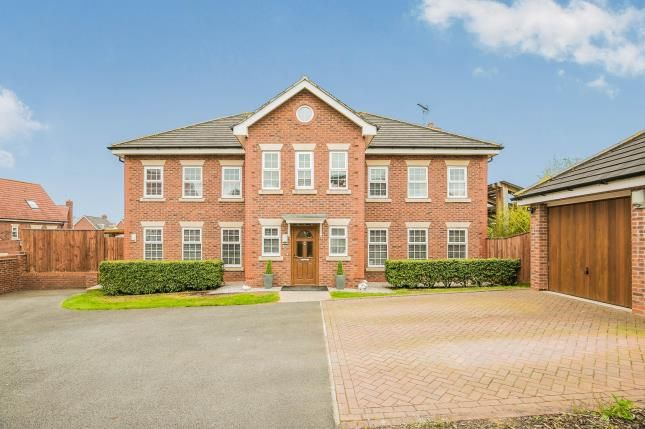 Thumbnail Detached house for sale in St. Augustines Drive, Wychwood Village, Weston, Cheshire