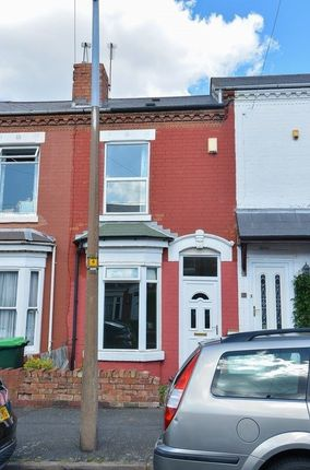 Thumbnail Terraced house to rent in Gladys Road, Bearwood, Smethwick