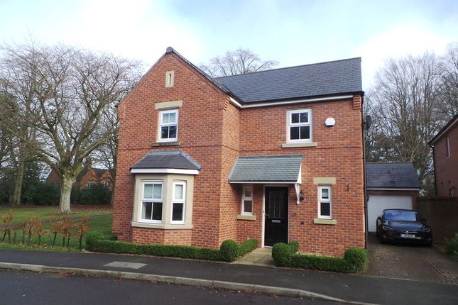 Thumbnail Detached house for sale in Willow Drive, Cheddleton, Leek