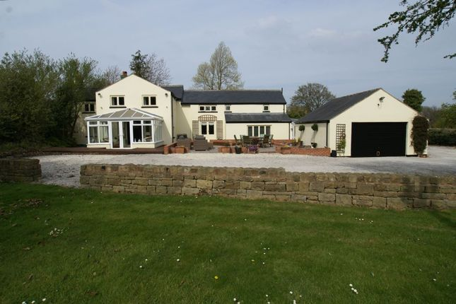 Thumbnail Detached house for sale in Palterton Lane, Sutton Scarsdale, Chesterfield, Derbyshire