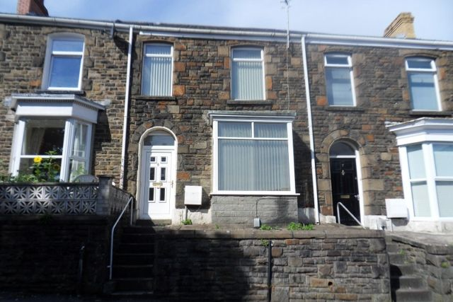 Thumbnail Terraced house to rent in Stanley Terrace, Mount Pleasant, Swansea.
