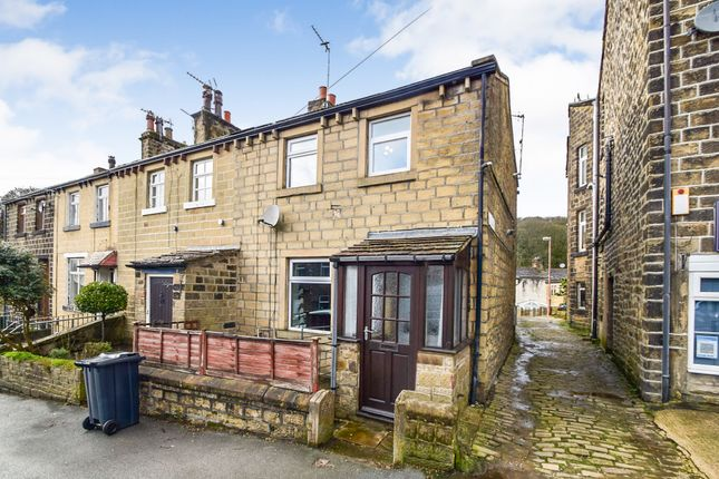 Thumbnail End terrace house for sale in Lidget, Oakworth, Keighley