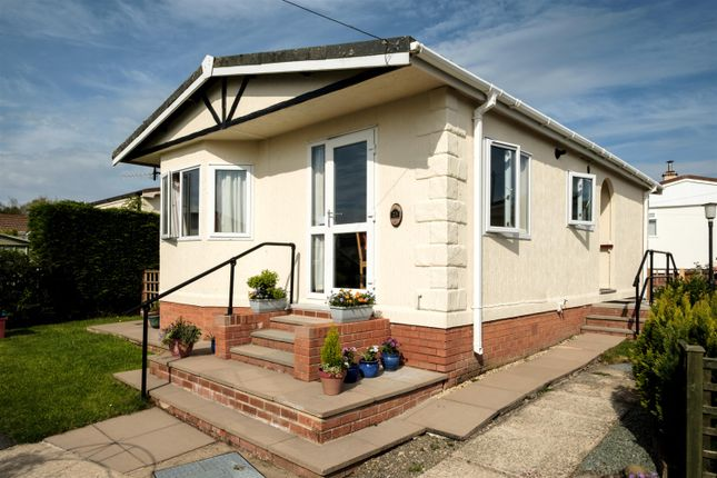 Thumbnail Mobile/park home for sale in 23 Sunny Haven, Howey, Llandrindod Wells