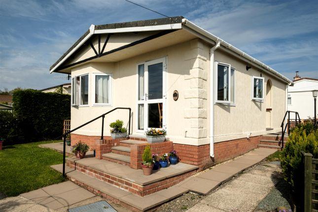 Thumbnail Mobile/park home for sale in 23 Sunny Haven, Howey, Llandrindod Wells
