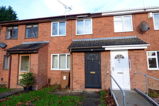 Thumbnail 2 bed terraced house to rent in Weston Park Gardens, Shelton Lock, Derby
