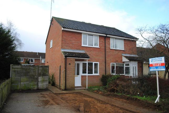 Thumbnail Semi-detached house to rent in Corbyn Shaw Road, King's Lynn