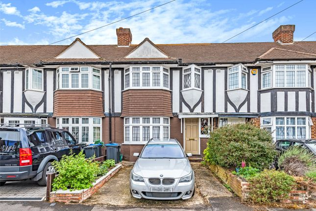 Thumbnail Terraced house for sale in Aragon Road, Morden, Surrey