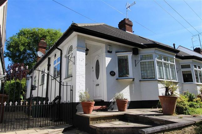 Thumbnail Semi-detached bungalow for sale in Yardley Lane, North Chingford, London