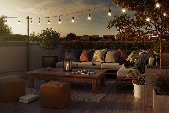 Roof Terrace of Solar Avenue, Leeds LS9