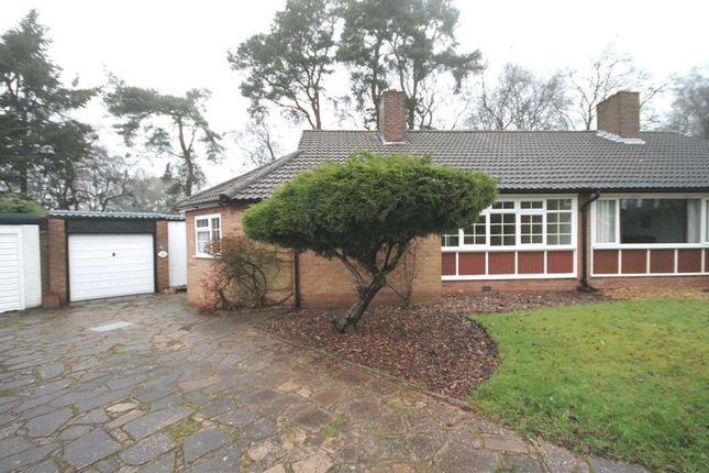 Thumbnail Semi-detached bungalow for sale in Birch Rise, Ashley Heath, Market Drayton