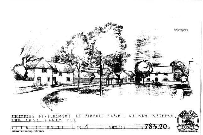 Thumbnail Land for sale in Welham, Retford