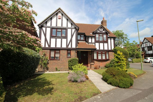 Thumbnail Detached house for sale in Erica Close, Locks Heath, Southampton