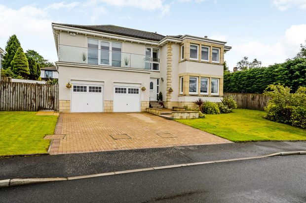 Thumbnail Detached house for sale in Inverhouse Gardens, Greenock