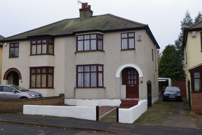 Thumbnail Semi-detached house to rent in Mitchell Avenue, Northfleet, Gravesend
