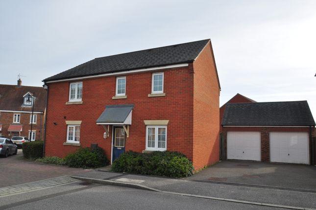 Thumbnail Semi-detached house to rent in Swaffer Way, Ashford, Kent
