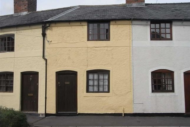 Thumbnail Terraced house to rent in Oak Street, Oswestry