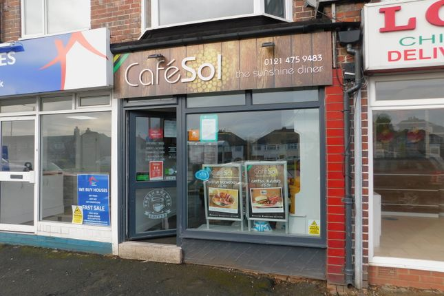 Thumbnail Restaurant/cafe for sale in 1281A Bristol Road South, Birmingham