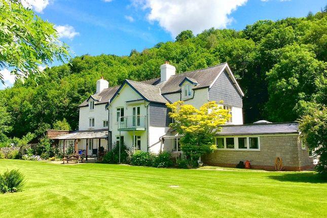 Thumbnail Detached house for sale in Plas Gwyn, Aberedw, Builth Wells, Powys