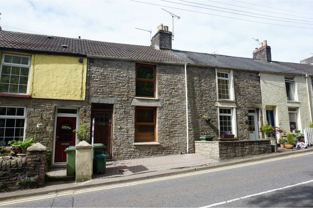 Thumbnail Terraced house for sale in Cross Inn Road, Pontyclun