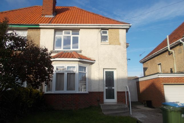 Thumbnail Semi-detached house to rent in Kitchener Road, Southampton