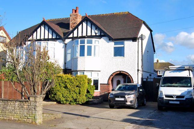 Thumbnail Semi-detached house for sale in Cheltenham Road, Longlevens, Gloucester