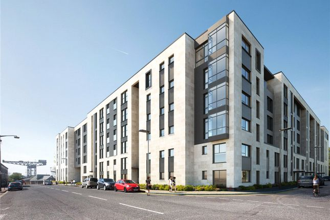 Thumbnail Flat for sale in Plot 16, Square, Minerva Street, Glasgow