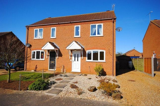 Thumbnail Semi-detached house to rent in Wallace Twite Way, Dersingham, King's Lynn