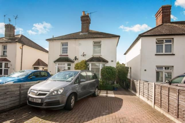 Thumbnail Semi-detached house for sale in Albert Road, Horley, Surrey