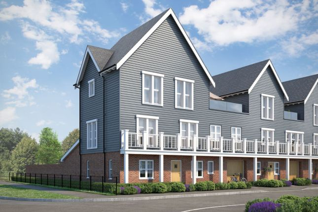 Thumbnail End terrace house for sale in The Gardino, Beaulieu, Regiment Gate, Essex Regiment Way, Chelmsford Essex