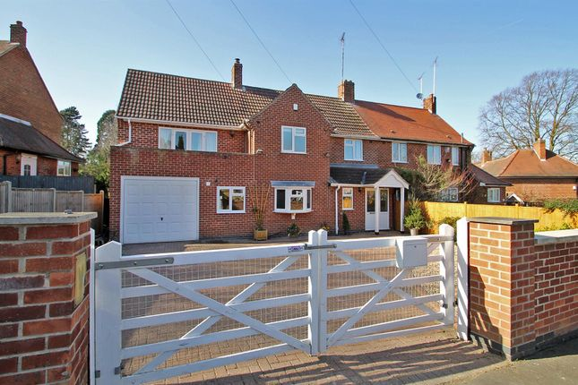 4 bed semi-detached house for sale in Park Avenue, Woodborough, Nottingham