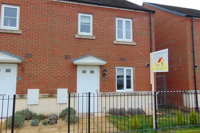 Thumbnail Semi-detached house for sale in Rhodfa Delme, Llanelli, Carms