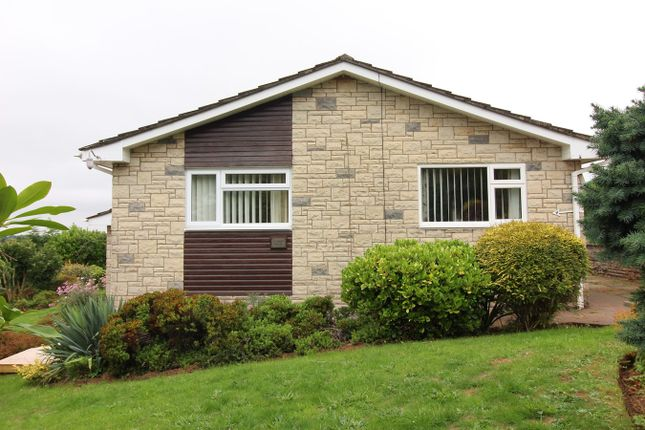 Thumbnail Detached bungalow for sale in Greenmeadow Close, Penhow, Caldicot